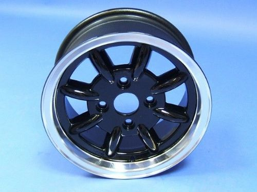 Alloy Wheel 6 x 13 Black Centre